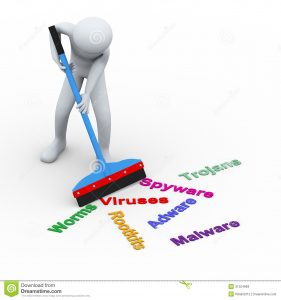 virus malware removal cleaning service