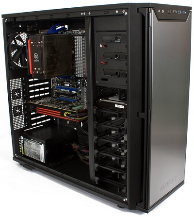custom built gaming system antec intel